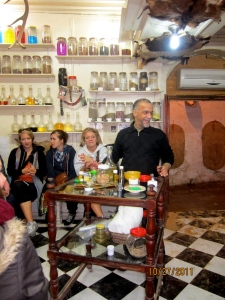 Herbal shop in Medina of Fes